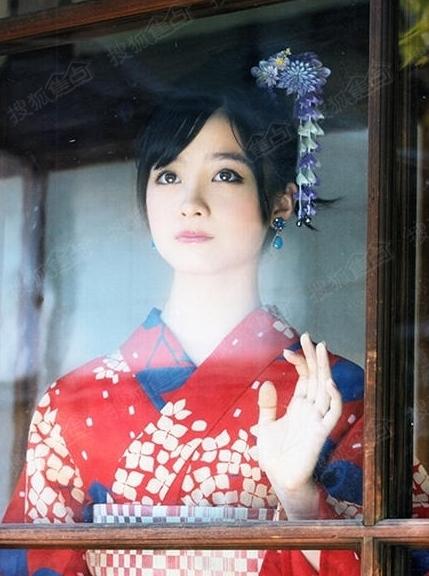 日本千年美女曝和服写真