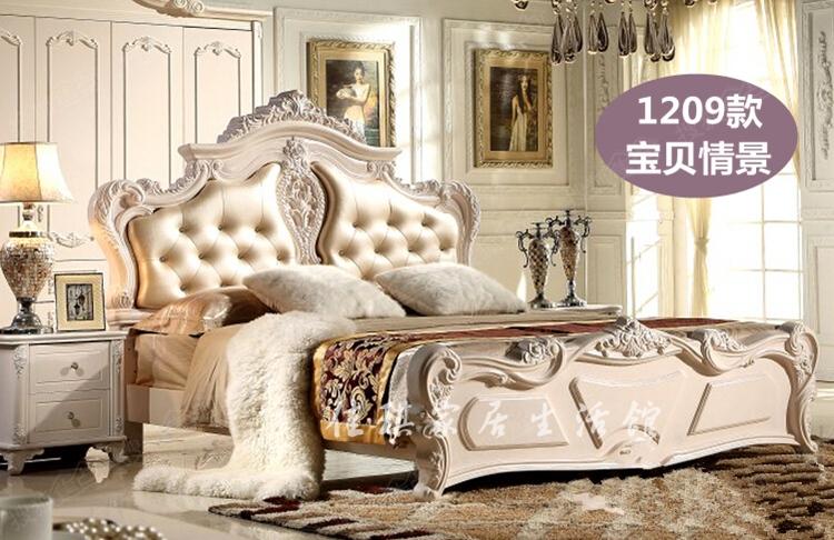包邮 欧式软包床头床靠背单双人公主床头烤漆床头板 可定做图片