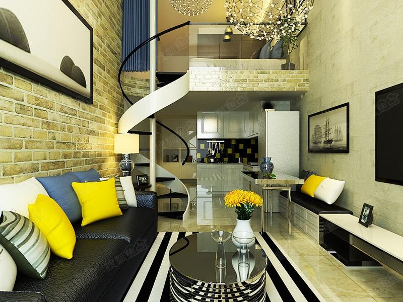 保利中心loft公寓装修设计大赛作品展示之马雅静