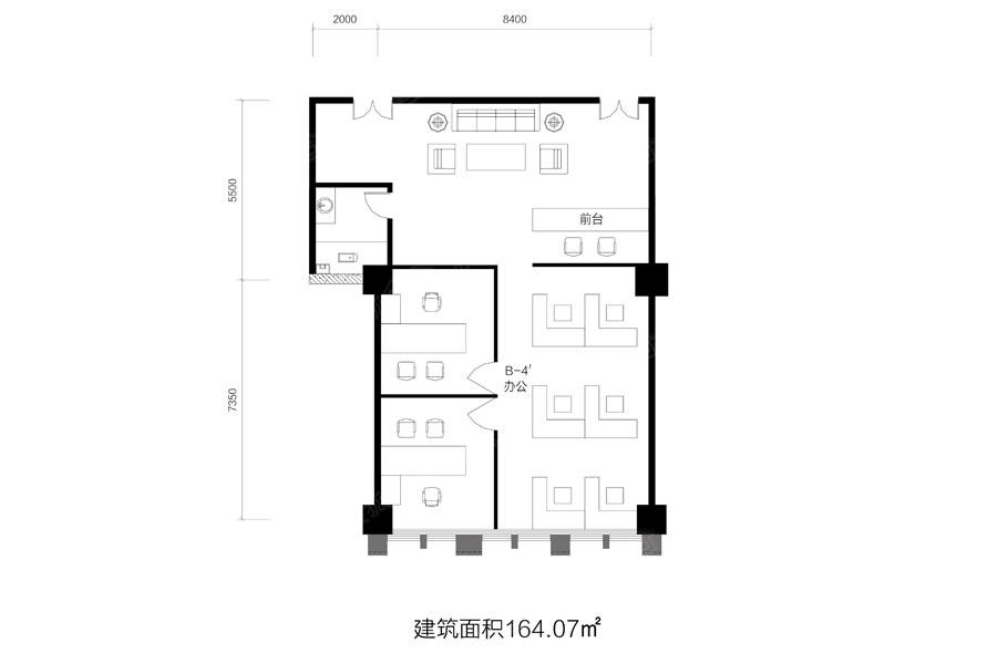 鑫科国际广场户型图