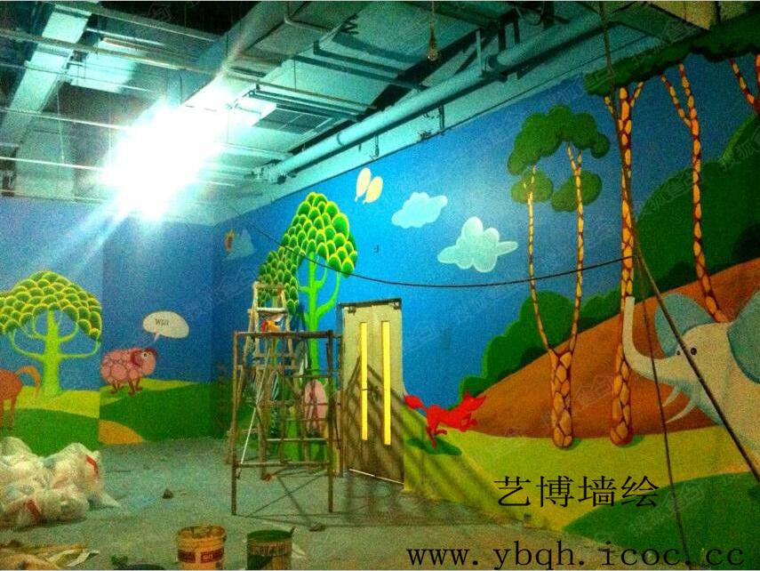 石家莊墻體彩繪幼兒園彩繪古建彩繪涂鴉墻繪手繪