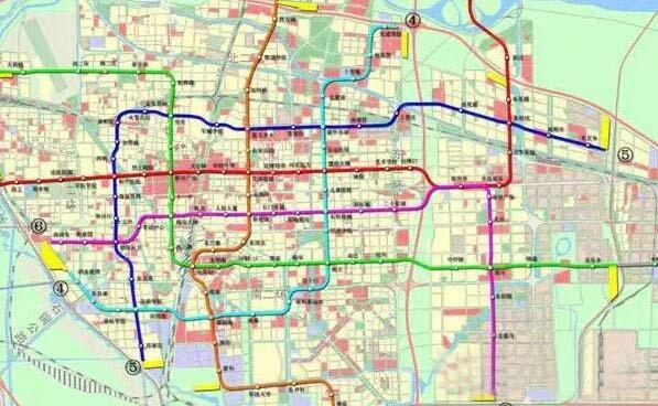 石家庄52个地铁车站位置及名字最终确定,看看哪个在你家门口