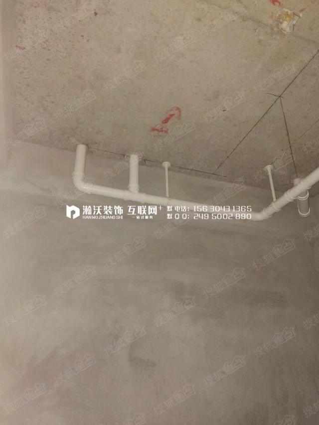 装修装饰效果图   卫生间马桶位,上下水位置分布