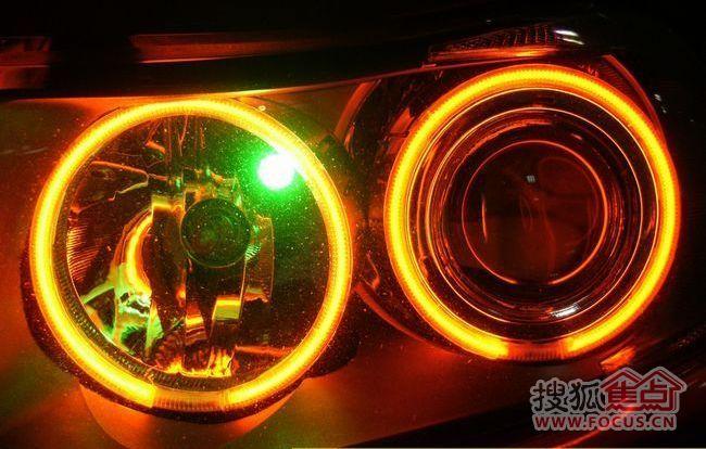 图:宝马3系灯光升级——改装q5双光透镜