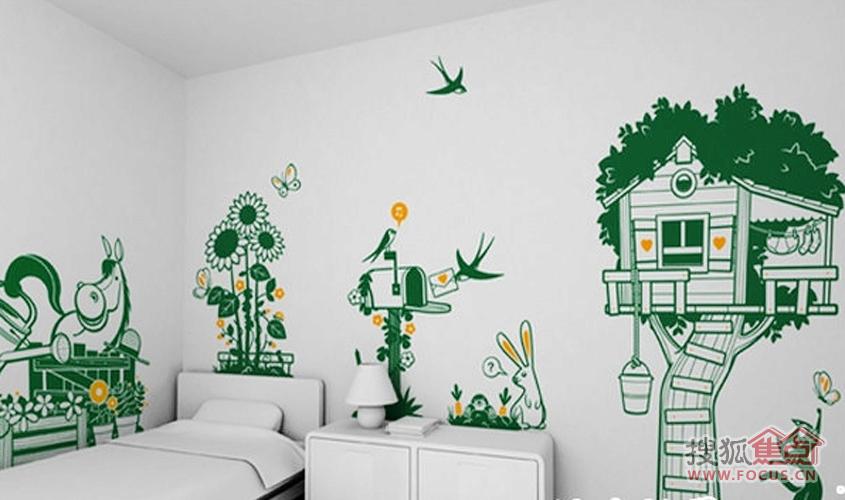 公园墙面设计图