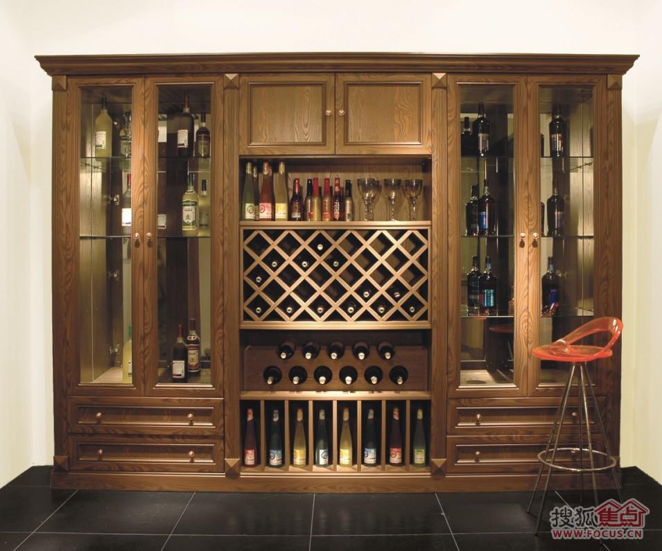 紫檀木酒柜