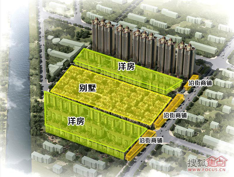 鹤壁银基王府规划图