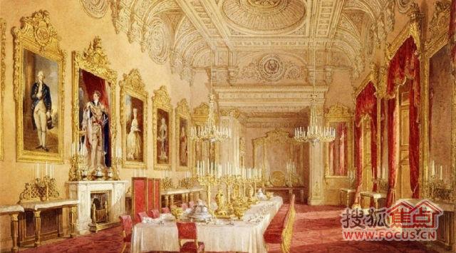 皇室御用壁炉,欧洲贵胄家族奢华符号