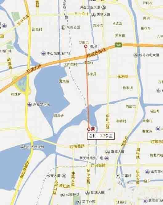 吴江飞机场选址
