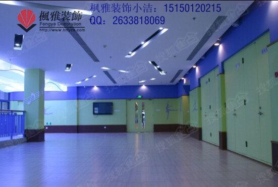 苏州舞蹈培训机构装修 儿童培训机构装修 枫雅装饰设计突出完美高清图片