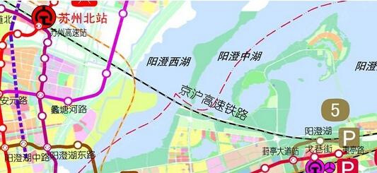 苏州轨道交通2015最新规划高清图 9号线都来了图片 91921 533x245