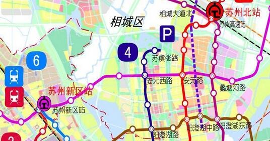 苏州轨道交通2015最新规划高清图 9号线都来了图片 120945 536x281