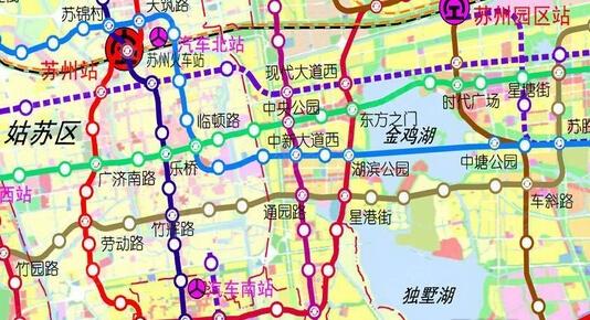 苏州轨道交通2015最新规划高清图 9号线都来了图片 143216 534x290