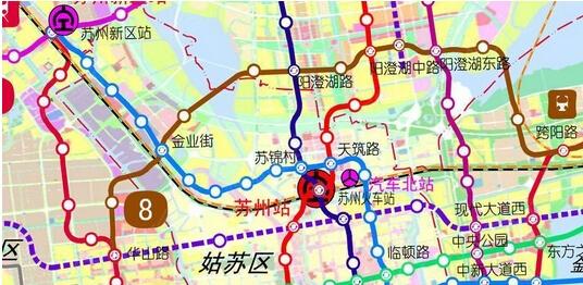 苏州轨道交通2015最新规划高清图 9号线都来了图片 128683 536x262