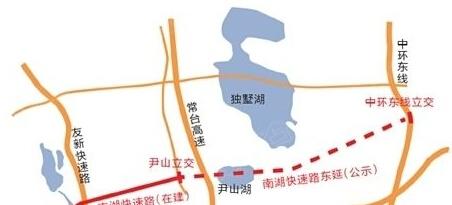 尹山湖规划新建一条湖底隧道,真的穿过尹山湖下面吗?