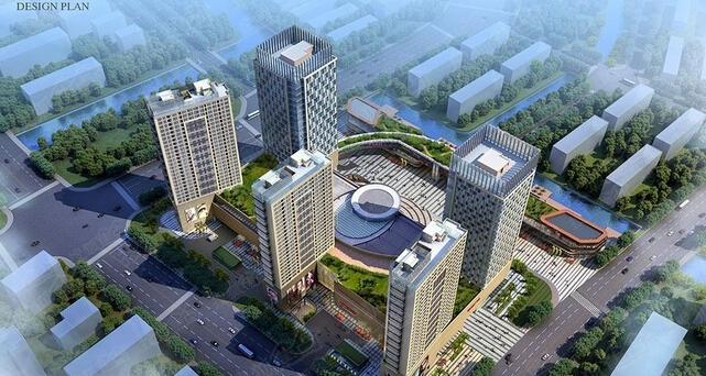 相之门位于苏州市相城区活力岛中心商贸城核心商务区内,由商业巨头