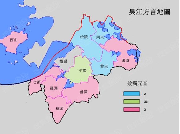 吴江老地图