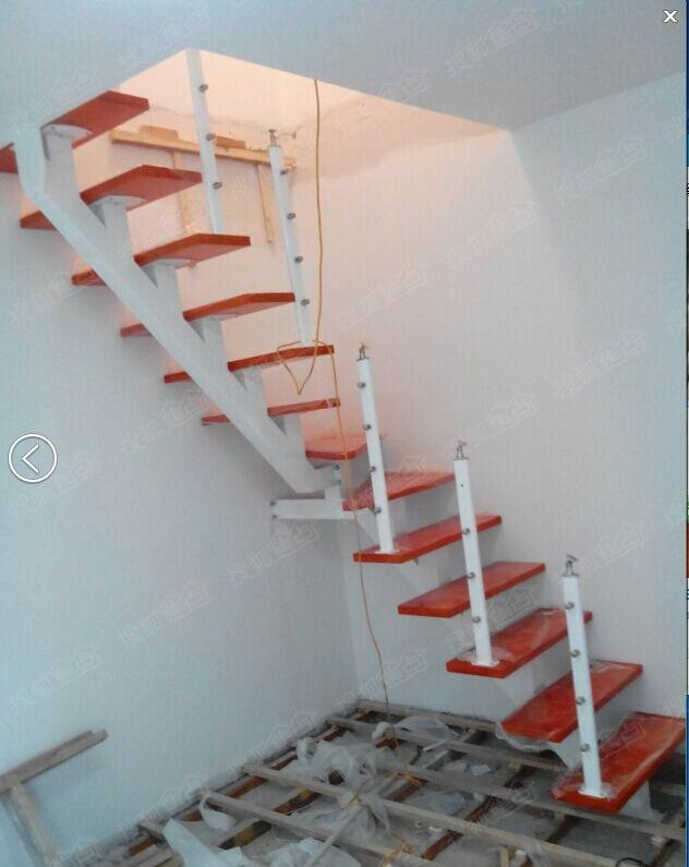 苏州挑高复式钢结构隔层阁楼,钢结构楼梯,钢木楼梯15962433194