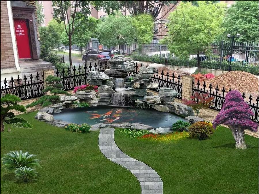 苏州园林景观绿化工程设计 内外涂料装饰 护坡工程 河道驳岸工程图片