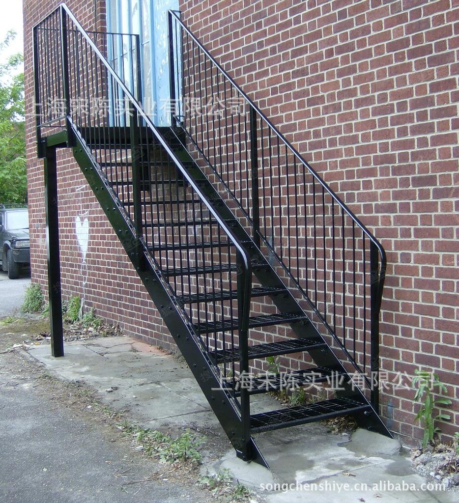 苏州惠诚钢结构阁楼,挑高楼加层,复试楼隔层,钢结构楼梯,扶手