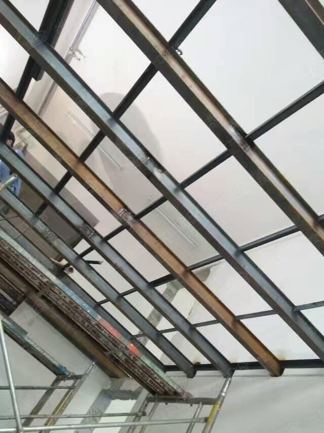 苏州惠诚钢结构阁楼,挑高楼加层,复试楼隔层,钢结构楼梯