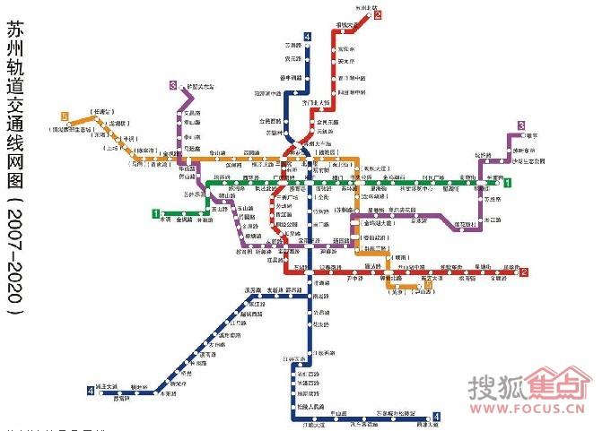 苏州轨道交通1 5号线线路图,附详细站台图片