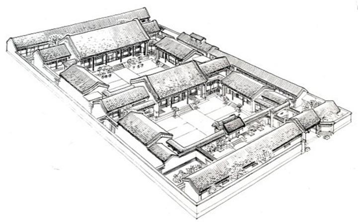 中国特有的建筑结构,它是中国古代建筑在檐部上的一种特殊处理和创造