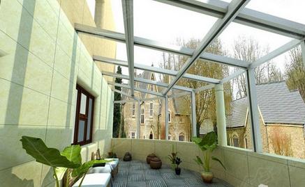 现代大阳台窗户图片