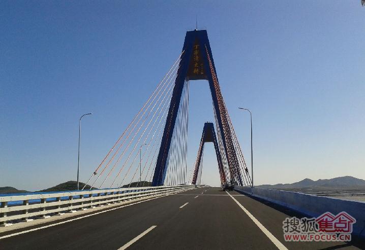 丁字湾跨海大桥