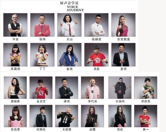 中国好声音学员名单图片大全下载; 【永远的孜孜不倦】7月28日,文哥