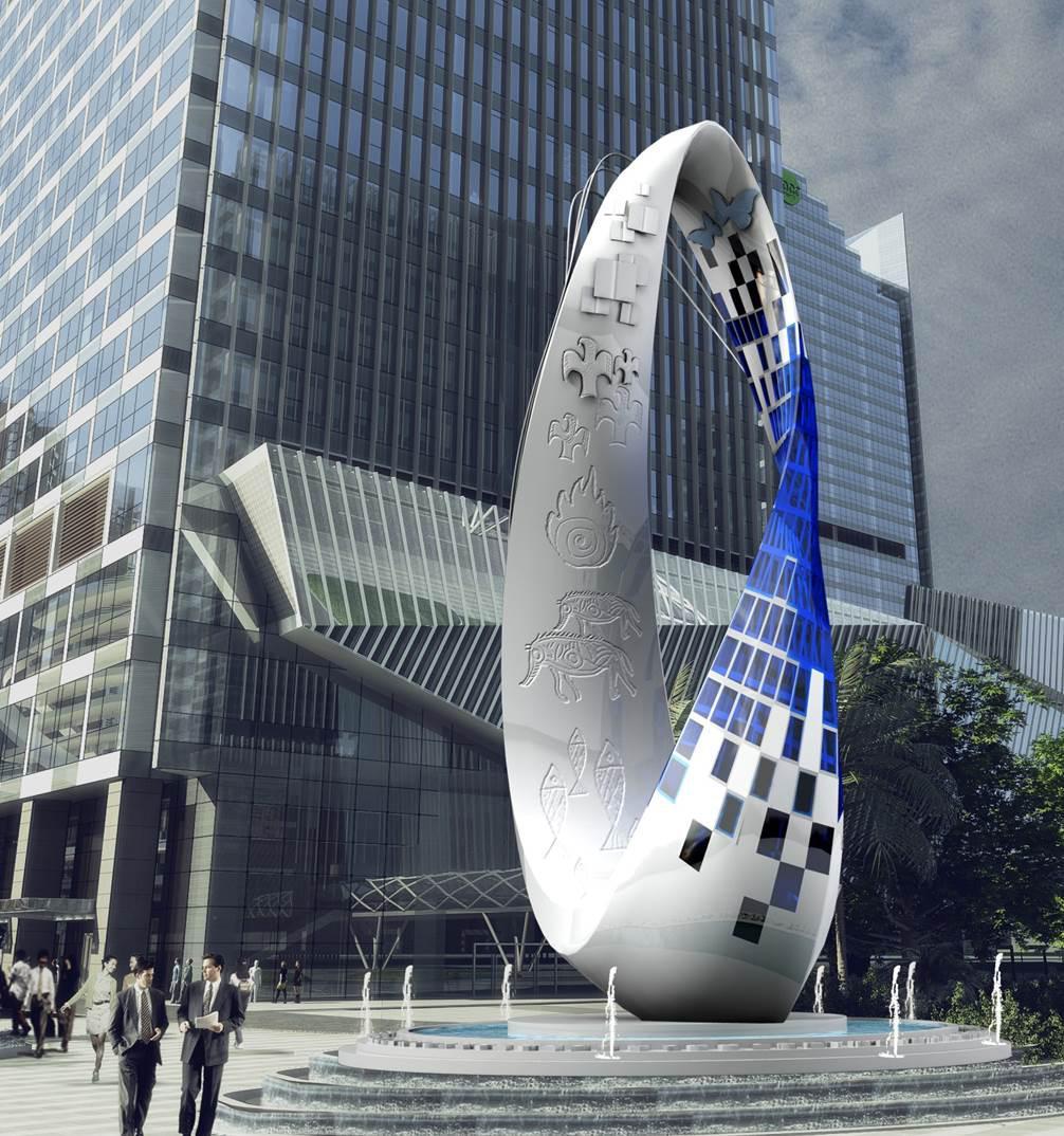 星河集团联手北京国际设计周共同举办的星河world城市公共设计大赛图片