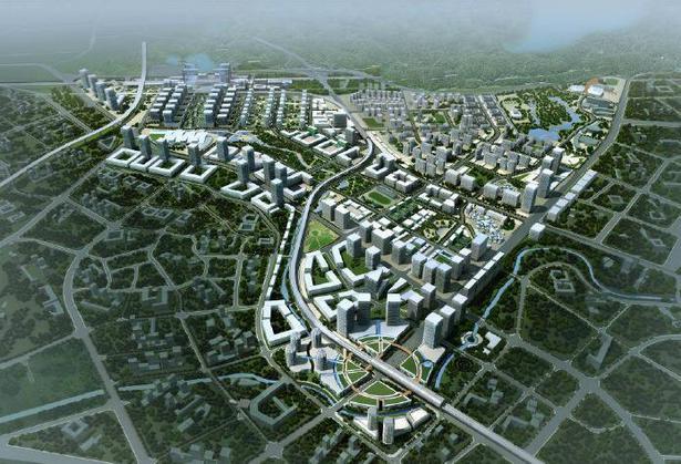 坪山新区规划图