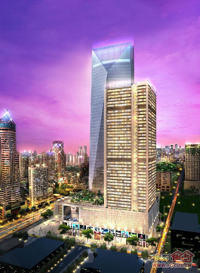深圳华强北产业升级转型,购都会轩复式公馆抢驻黄金商圈图片
