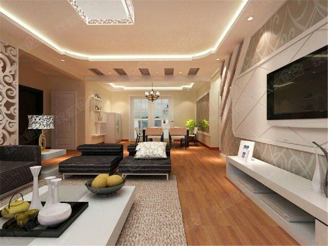 三居室简约风情,来电可预约参观工地,免费制定初步设计方案 高清图片