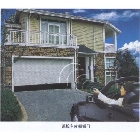 天津红桥区安装车库门,安装翻板车库门