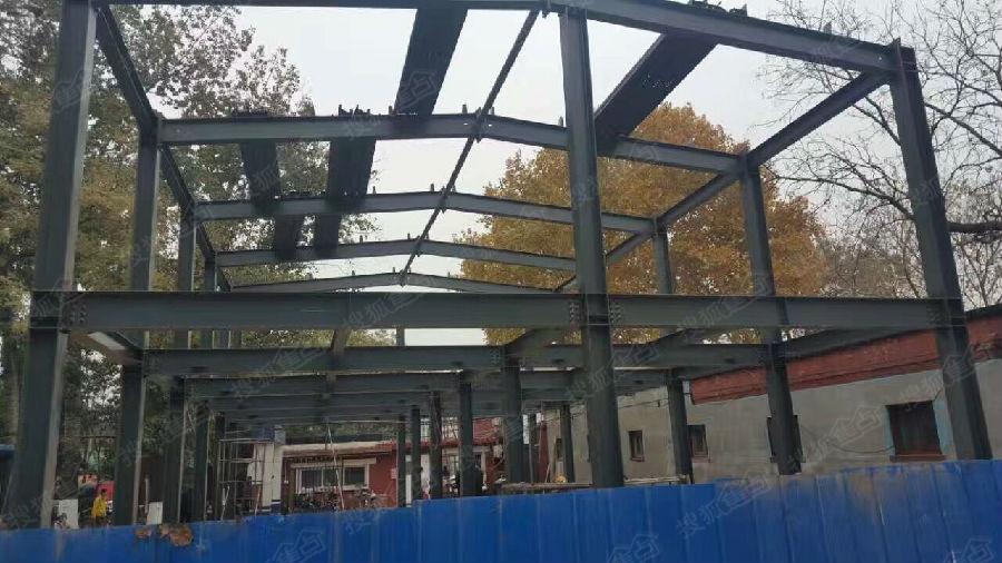 坡屋顶各种挑空夹层阁楼)钢结构