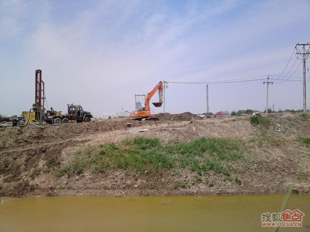 图:杨柳青江南城工程进度(三)
