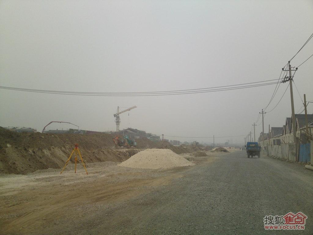 图:杨柳青江南城工程进度(四)