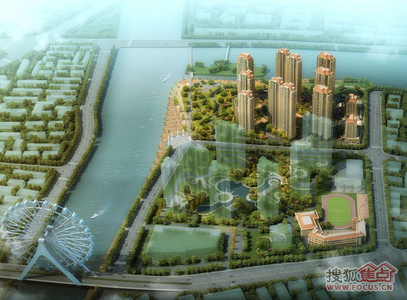 仁恒河滨花园