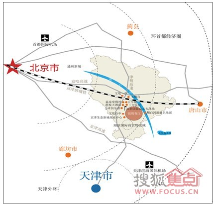 ... 铁 从 香河 通 10 分钟 到 高 铁 旅游 生态 圈 线路 图