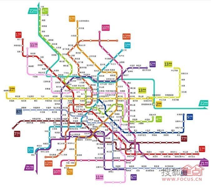 苏州地铁1号线 长沙地铁1号线 1号线地铁线路图 都地铁1号线图片