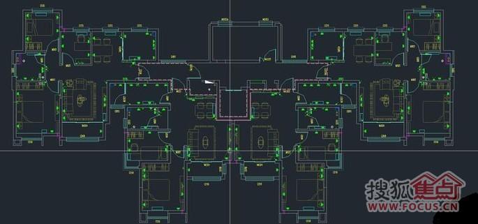 图片是标准的3室2厅1卫,第二、三张是顶层带阁楼的户型,我进高清图片