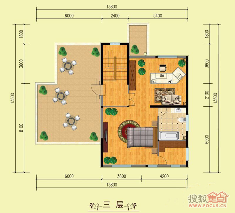 ... 户型图 上海大华西郊别墅西郊别墅平面户型高清大图