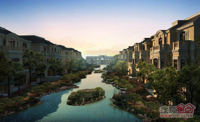 南湖壹号项目北临唐山市植物园,西畔南湖城市中央生态公园,循建设南路