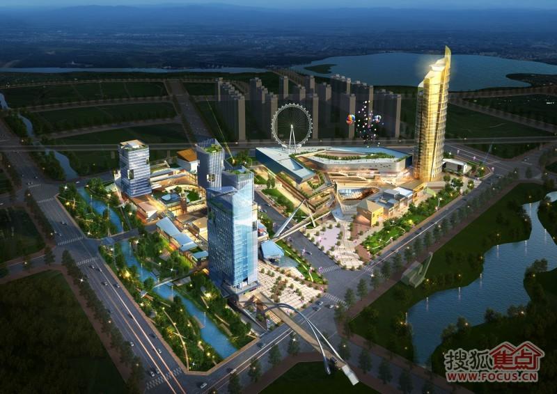 项目位于丰南区 唐山市丰南区文化大街与铁西路交叉
