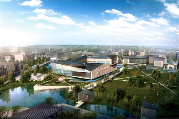 谍照:山西大学东山校区规划建筑效果图出炉-太原业内