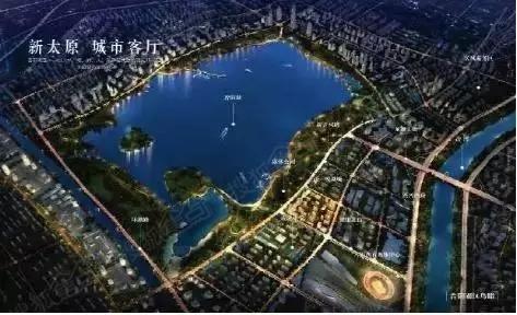 规划地铁新建公园 太原晋阳湖文化生态区将建市级中心