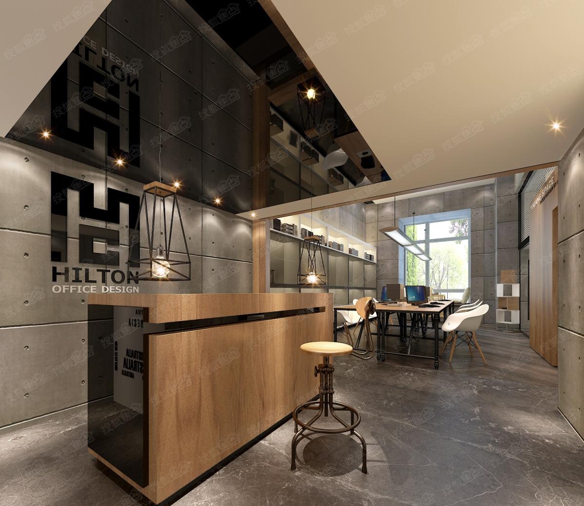 君泰·中央公园56㎡双间拼接办公公寓样板间-会议室图片