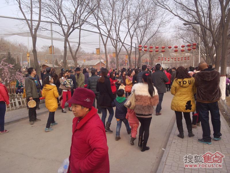昨天元宵节太原动物园场面真壮观呢,堪称人山人海啊!