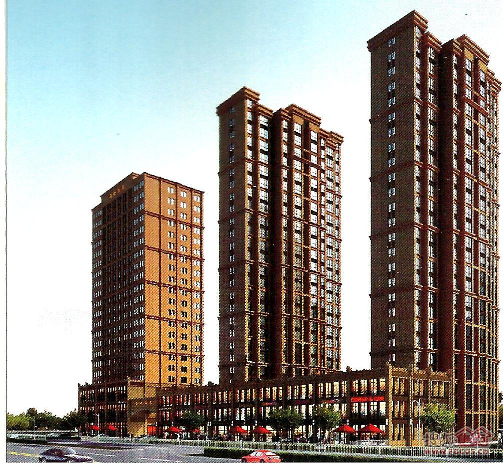 盛世豪庭未来富平的居住中心地带高清图片